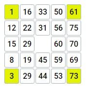 правила игры бинго 75